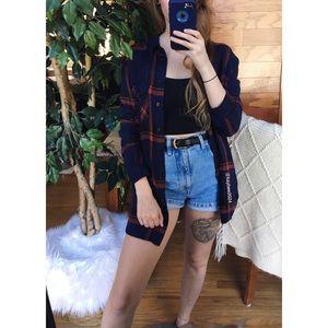 🌿 Urban Outfitters BDG Soft Boyfriend Flannel 🌿